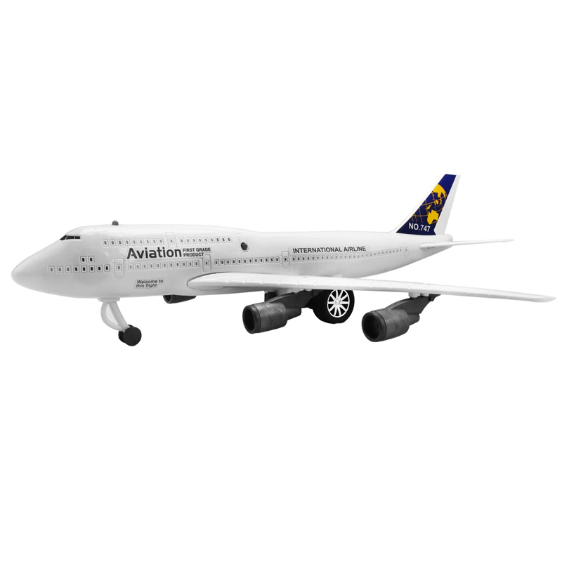 Avion Boeing 747, 44 x 22 cm, design realist 2021 shopu.ro