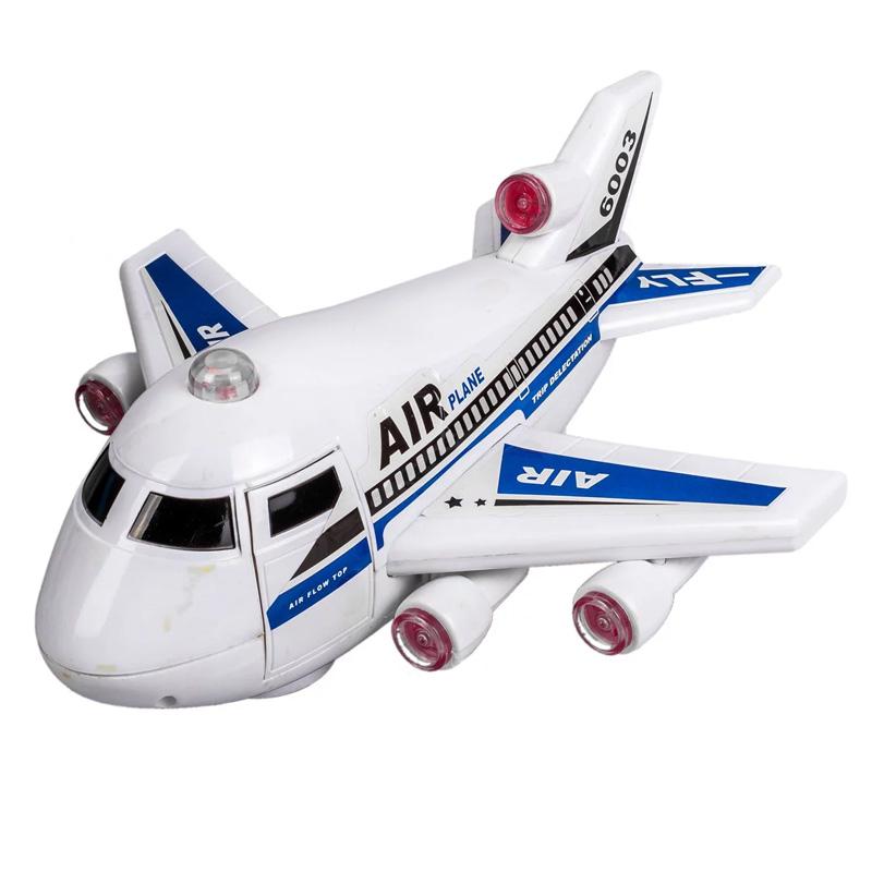 Avion cu sunete reale, 3 x AA, 3 ani+ 2021 shopu.ro