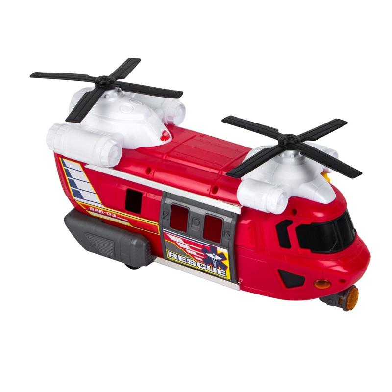 Avion salvare Rescue SAR-03, 2 x AA, sunete si lumini, 3 ani+