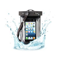 Husa universala waterproof iPhone Goobay, Negru