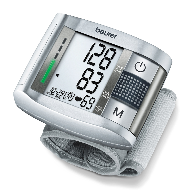 Tensiometru de incheietura BC19 Beurer, LCD, 2 x 60 memorii