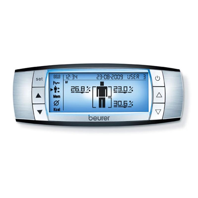 Cantar diagnostic BF105 Beurer, 150 kg, ecran detasabil