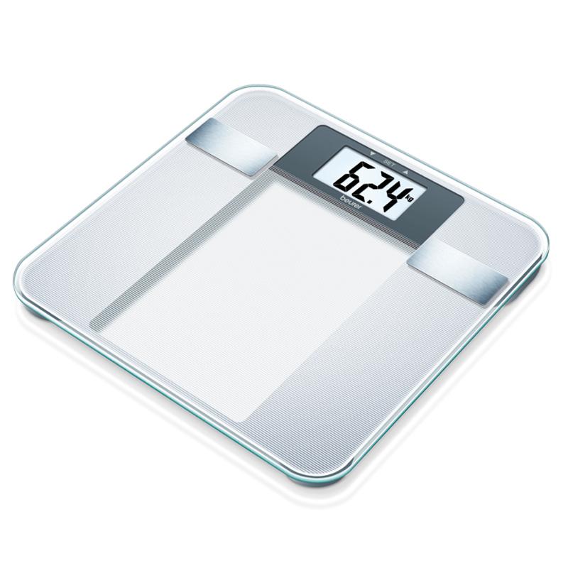 Cantar diagnostic de sticla BG13 Beurer, 150 kg, 10 memorii 2021 shopu.ro