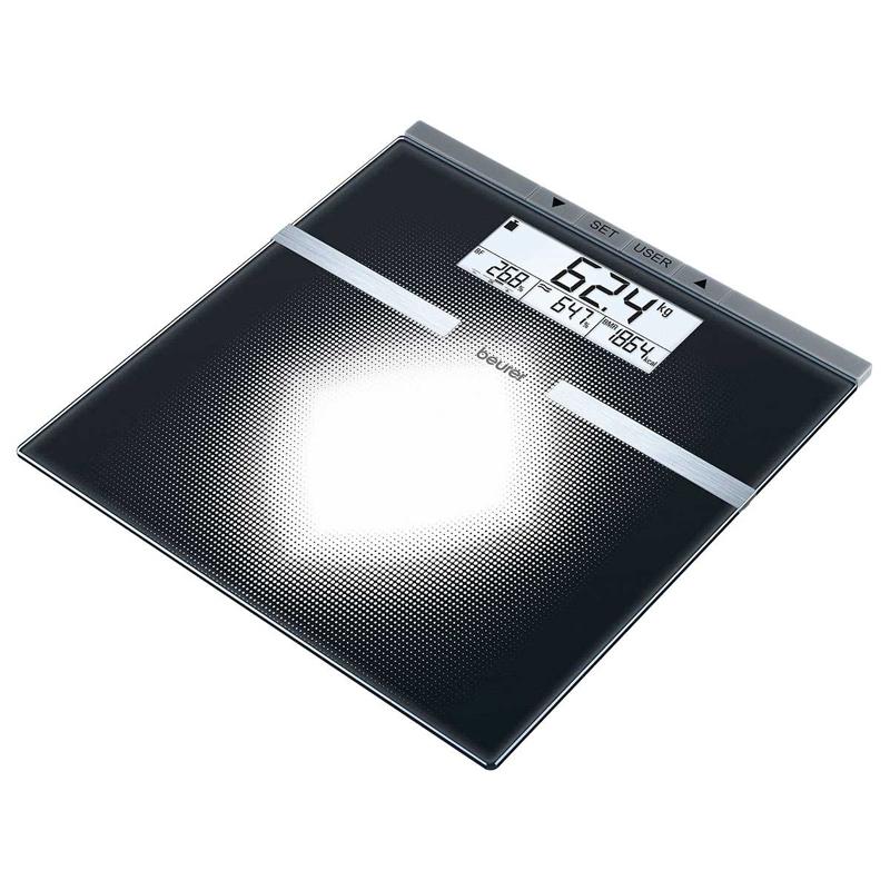 Cantar diagnostic de sticla BG21 Beurer, 150 kg, 10 memorii 2021 shopu.ro