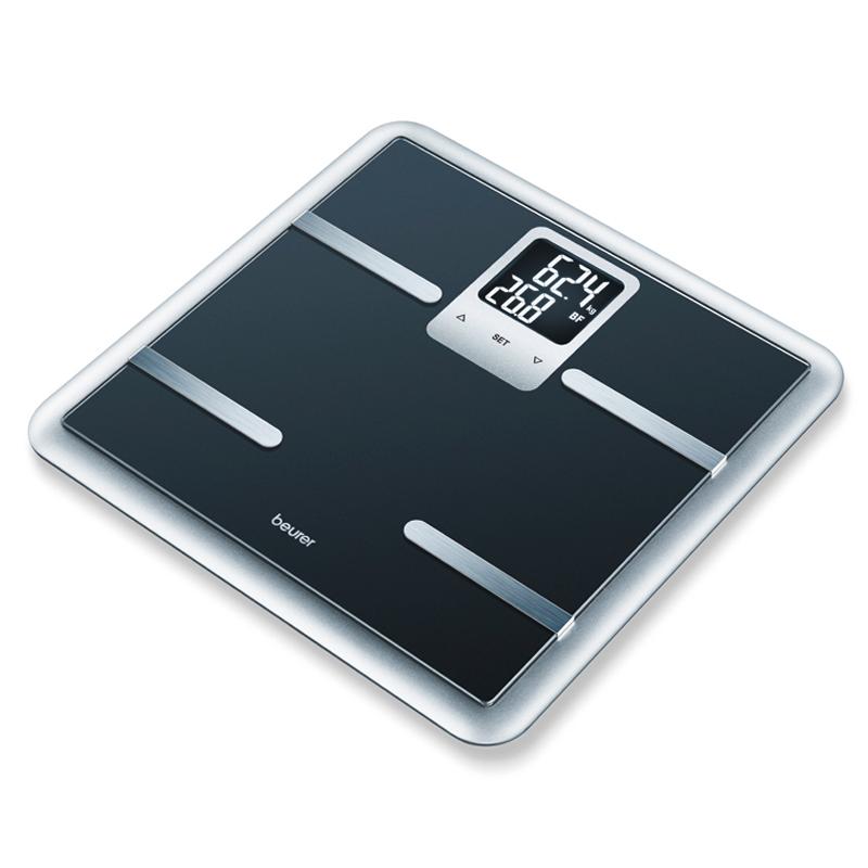 Cantar diagnostic de sticla BG40 Beurer, 150 kg, 10 memorii 2021 shopu.ro