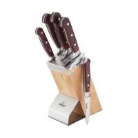 Set cutite Bohmann, 6 piese, suport lemn