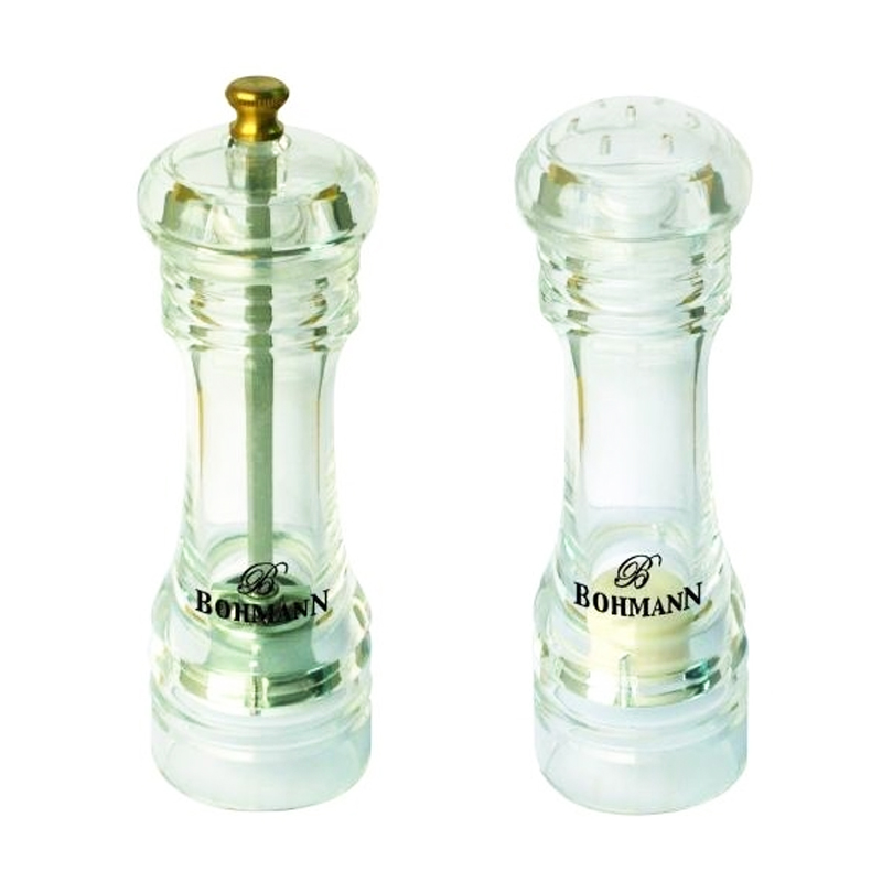 Set condimente Bohmann, 2 piese, sticla
