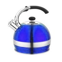 Ceainic inox cu fluier Bohmann, 2.7 l, Albastru