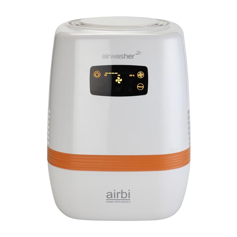 Umidificator si purificator aer Airwasher AirBi, 8 W, LCD 2021 shopu.ro