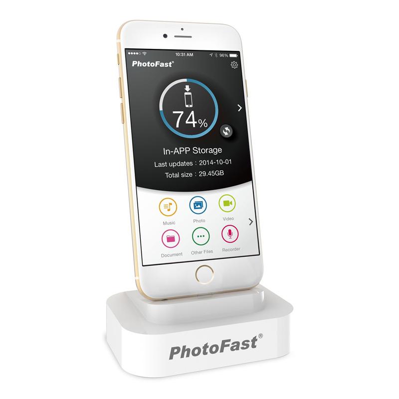 Memorie BackUpDock PhotoFast, 32 GB, USB 3.0 2021 shopu.ro