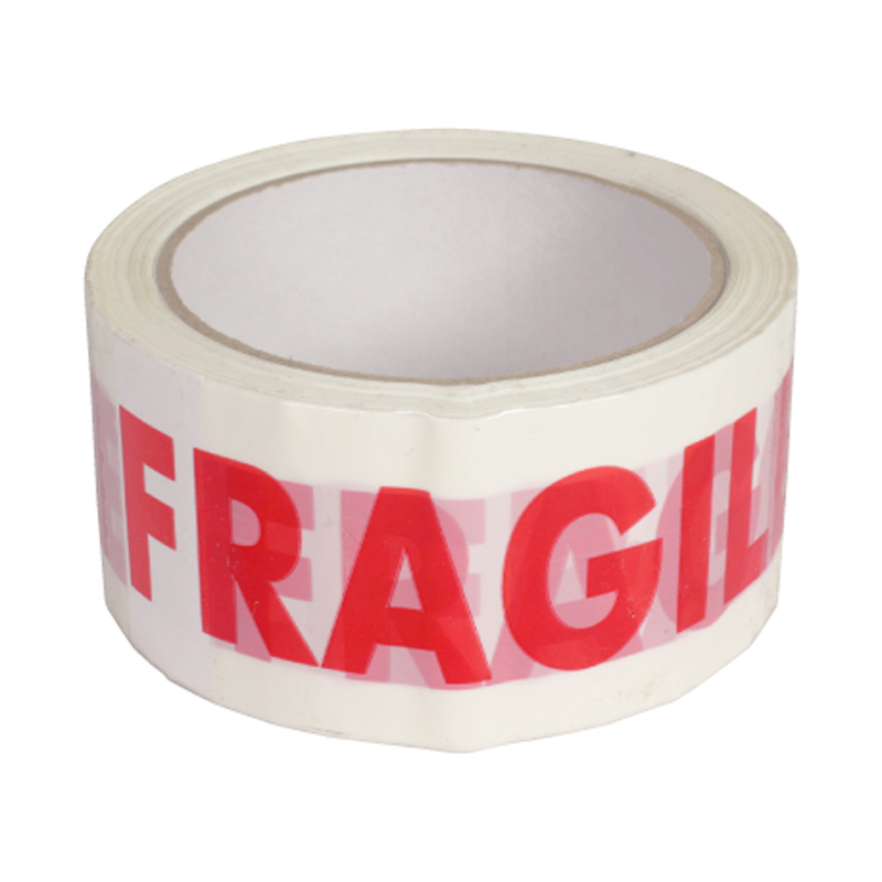 Banda adeziva personalizata, inscriptia fragil shopu.ro