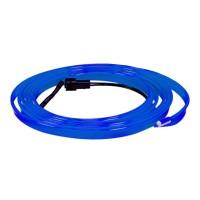 Banda auto flexibila pentru lumina ambientala Light Line, 2 m, Albastru