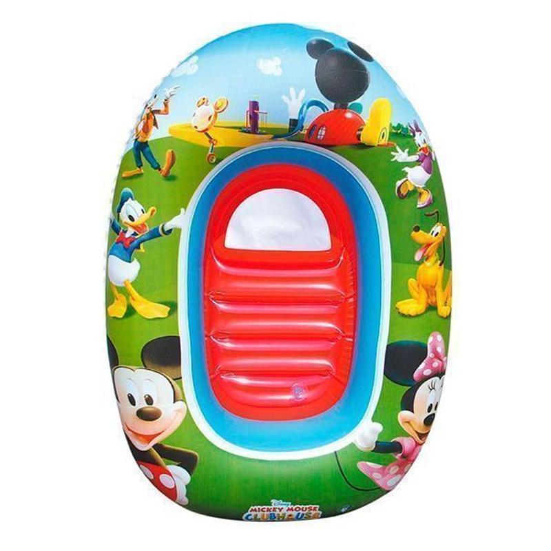 Barca gonflabila pentru copii Bestway, 102 x 69 cm, Multicolor 2021 shopu.ro