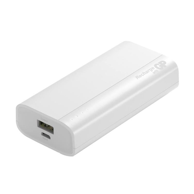 Baterie externa portabila GP B05A Powerbank, 5000 mAh, 2.1 A, Alb 2021 shopu.ro