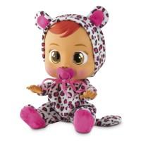 Bebelus interactiv Lea Cry Babies, model leopard