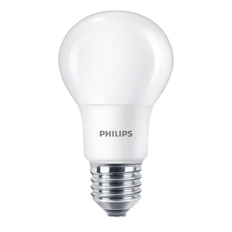 Bec LED Philips, 8 W, 2700 K, 806 Lumeni, 220 V, E27, alb cald, 15000 ore, clasa energetica A+ shopu.ro