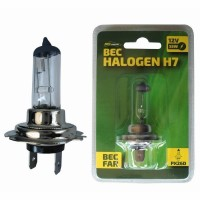 Bec auto cu halogen Ro Group H7 12V, 55W