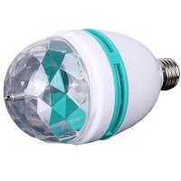 Bec rotativ colorat in 3 culori, 3 W, LED