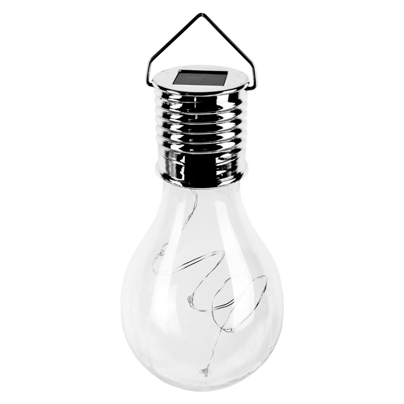 Bec solar Flames, 15 cm, LED, carlig agatare shopu.ro