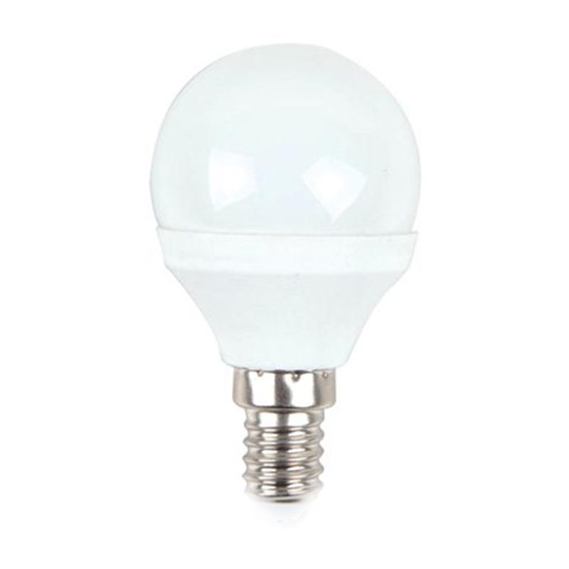 Bec economic cu LED, 3 W, 250 lm, 6400 K, soclu E14, lumina alb rece, forma P45 shopu.ro