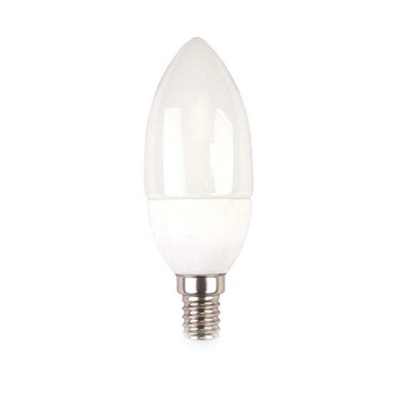 Bec cu LED, 5.5 W, 470 lm, 3000 K, soclu E14, lumina alb cald, cip Samsung, forma P45 shopu.ro
