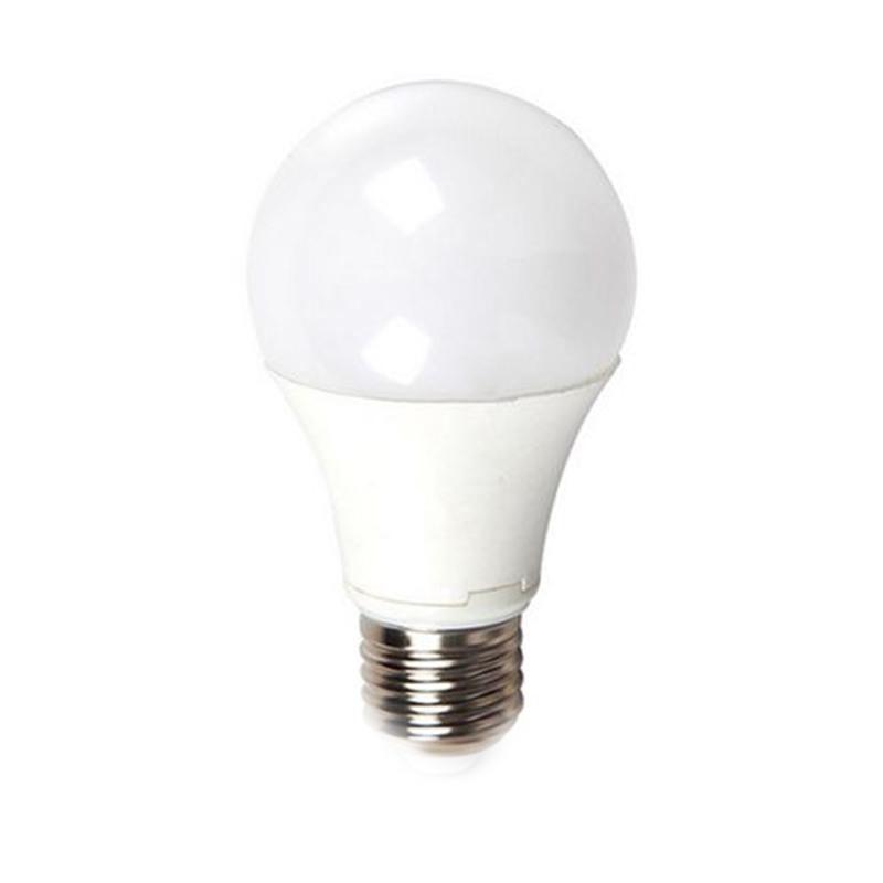 Bec economic cu LED, 9 W, 806 lm, 6400 K, soclu E27, lumina alb rece, forma A60 2021 shopu.ro
