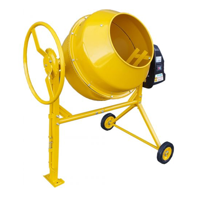 Betoniera Stager, 550 W, 125 l, 26.6 rpm, cuva 385 mm, 45 kg, Galben shopu.ro