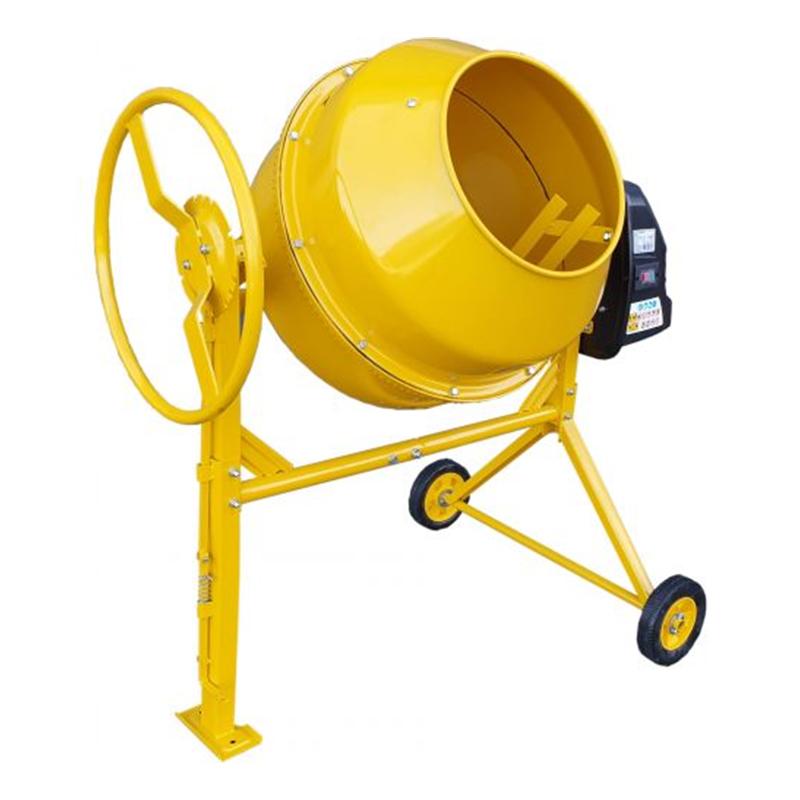 Betoniera Stager, 650 W, 160 l, 29.5 rpm, cuva 390 mm, 55.5 kg, Galben 2021 shopu.ro