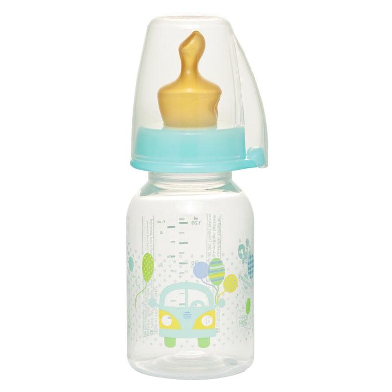 Biberon Family Unisex Nip, 125 ml, numarul 1, tetina latex 2021 shopu.ro