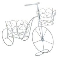 Suport decorativ pentru ghivece, 45 x 19 x 35 cm, forma bicicleta