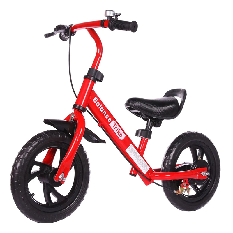 Bicicleta fara pedale Balance Trike, maxim 25 kg, 2-5 ani, Rosu 2021 shopu.ro