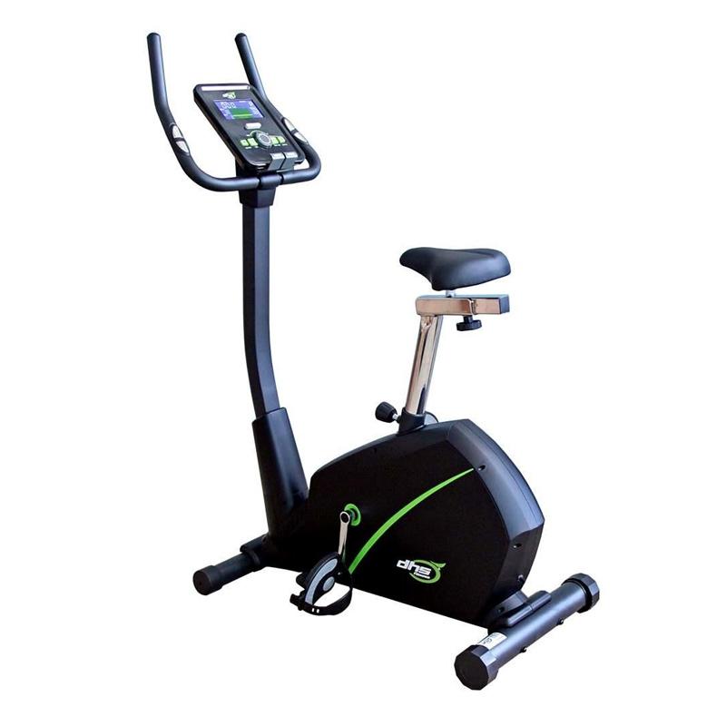 Bicicleta magnetica pentru fitness DHS 2729, roata 6 kg, 5 functii, maxim 120 kg