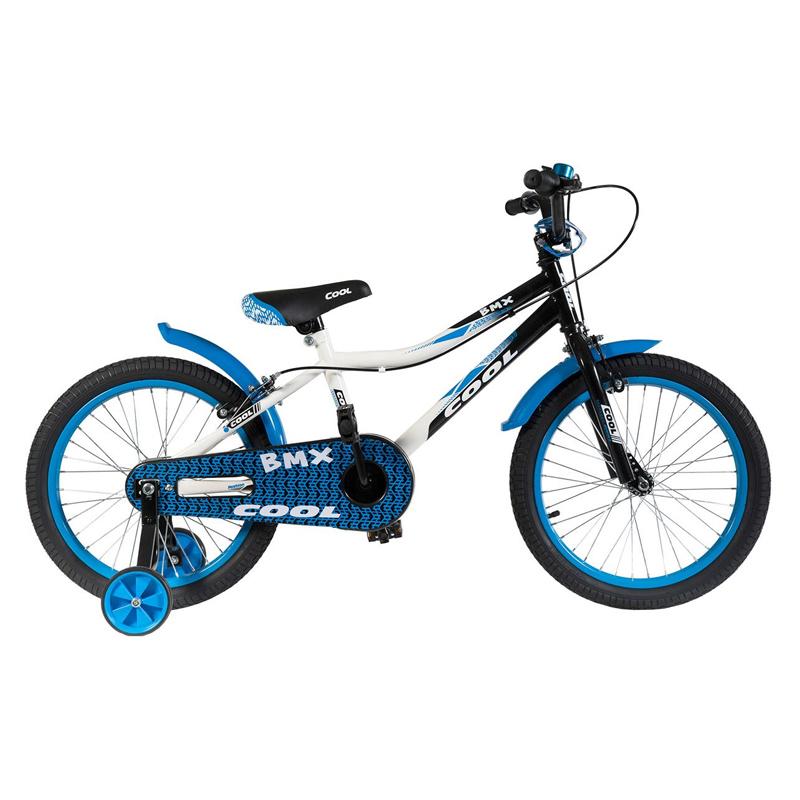 Bicicleta pentru baieti BMX Cool, 7-11 ani, Albastru 2021 shopu.ro
