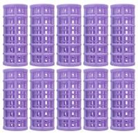 Set bigudiuri cilindrice Oranjollie, 10 bucati, plastic