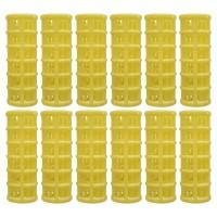 Set bigudiuri cilindrice Oranjollie, 12 bucati, plastic