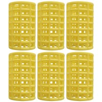 Set bigudiuri cilindrice Oranjollie, 6 bucati, plastic
