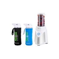Blender ECG SM 5030 Mix&Go, 500 W, 600 ML, 22000 rpm, protectie suprainvalzire, lame inox, bol plastic, accesorii incluse