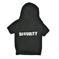Bluza groasa pentru catei, marime M, imprimeu Security