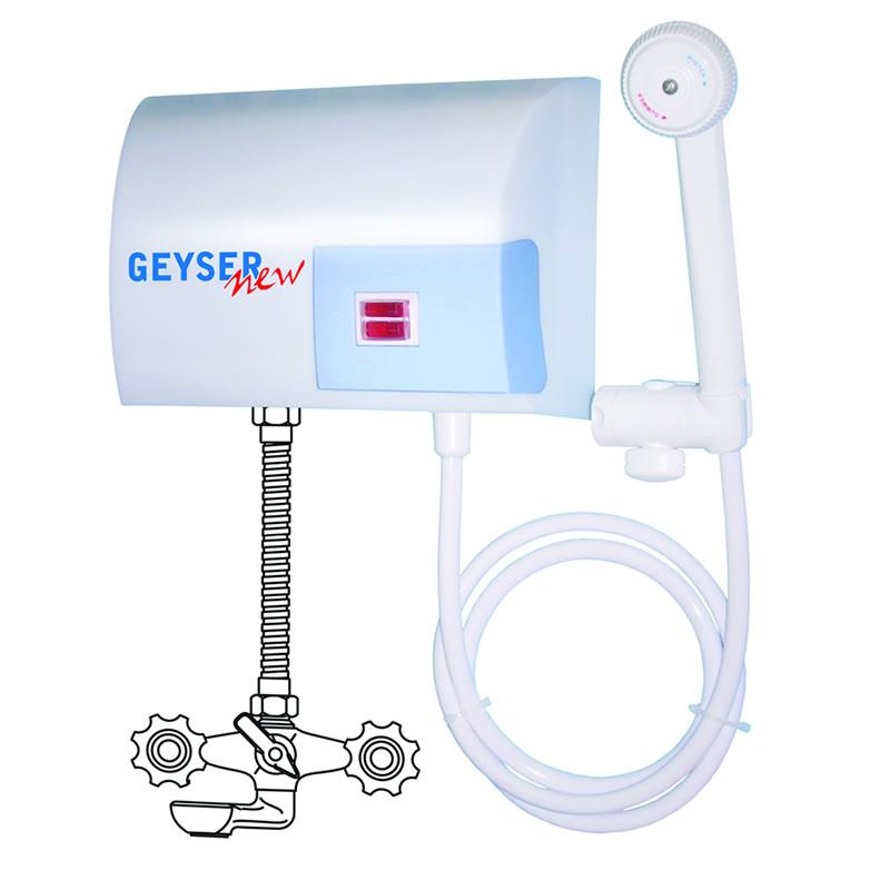 Boiler electric instantaneu GEYSER NEW, 5000 W, dus shopu.ro