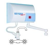 Boiler electric instantaneu GEYSER NEW, chiuveta