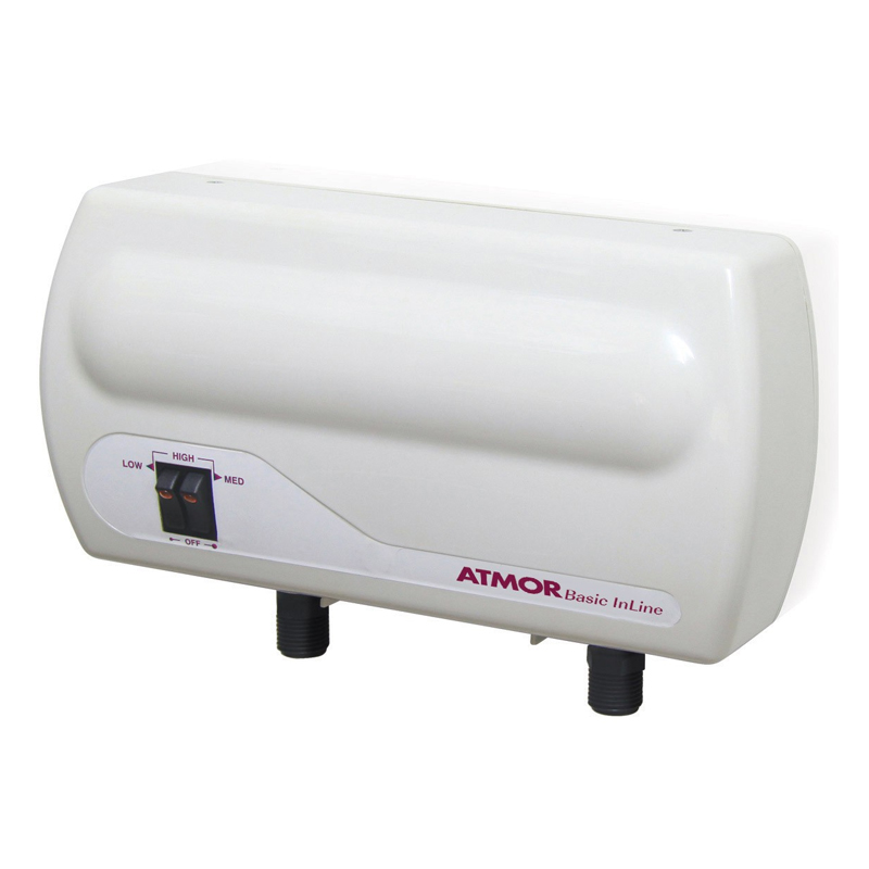 Boiler instant pentru chiuveta Atmor Basic In-Line, 5.5 kW, 1.5 l/min, 3 trepte incalzire, 7 bar, 2 rezistente 2021 shopu.ro