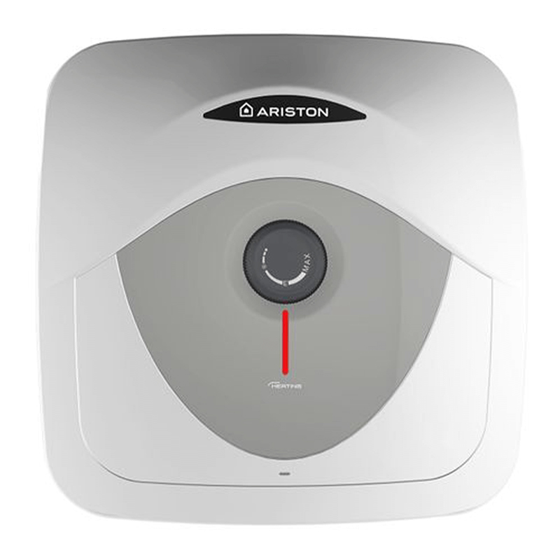 Boiler electric Ariston Andris, 30 l, 1500 W, 447 x 447 x 389 mm, termostat reglabil, panou mecanic, Alb shopu.ro