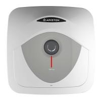 Boiler electric Ariston Andris, 30 l, 1500 W, 447 x 447 x 389 mm, termostat reglabil, panou mecanic, Alb