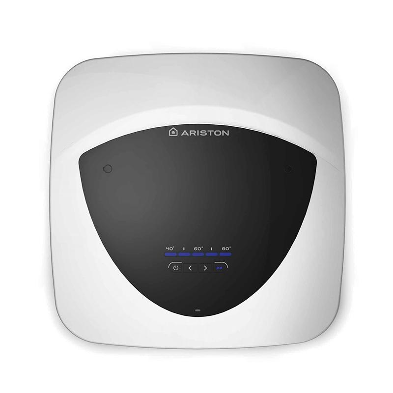 Boiler electric Ariston Andris Lux Eco, 15 l, 1200 W, 8 bar, izolatie ecologica, termostat elctronic, afisaj LED, Alb 2021 shopu.ro