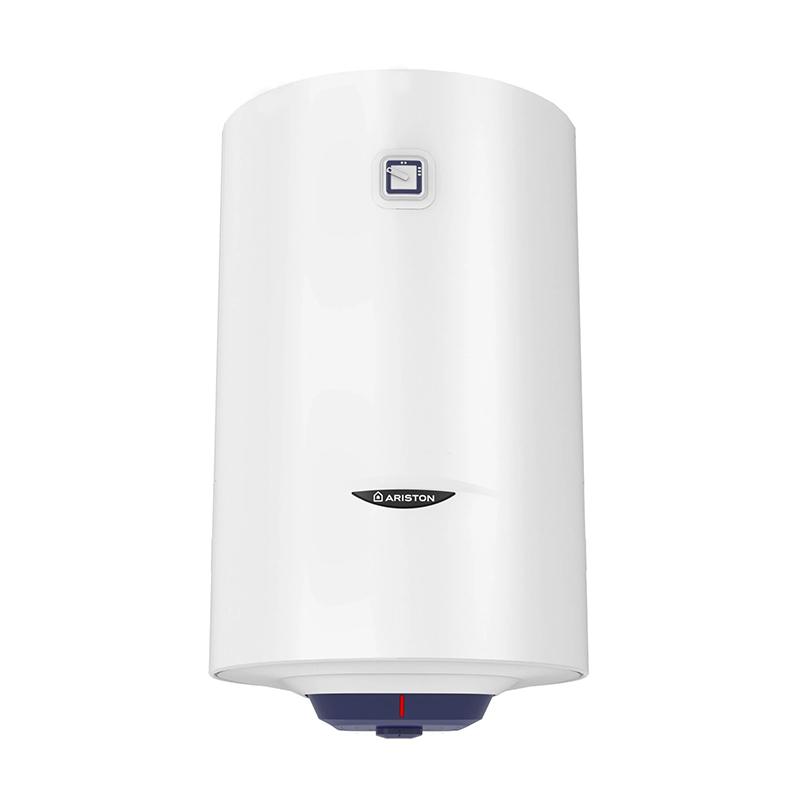 Boiler electric Ariston Blu R, 80 l, 1500 W, 8 bar, termostat mecanic, tehnologie water plus, izolatie poliuretan, Alb shopu.ro