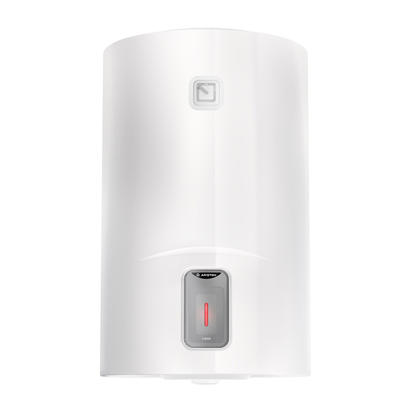 Boiler electric Ariston Lydos, 50 l, 1800 W, 568 x 450 x 480 mm, 8 bar, izolatie ecologica, rezervor titan, Alb shopu.ro