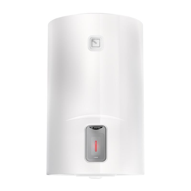 Boiler electric Ariston Lydos, 80 l, 1800 W, 773 x 450 x 480 mm, 8 bar, rezervor emaliat cu titan, Alb shopu.ro