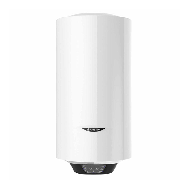 Boiler electric Ariston Pro 1 Eco slim, 65 l, 1800 W, 8 bar, ecran inteligent, functia Eco, cablu inclus, Alb 2021 shopu.ro