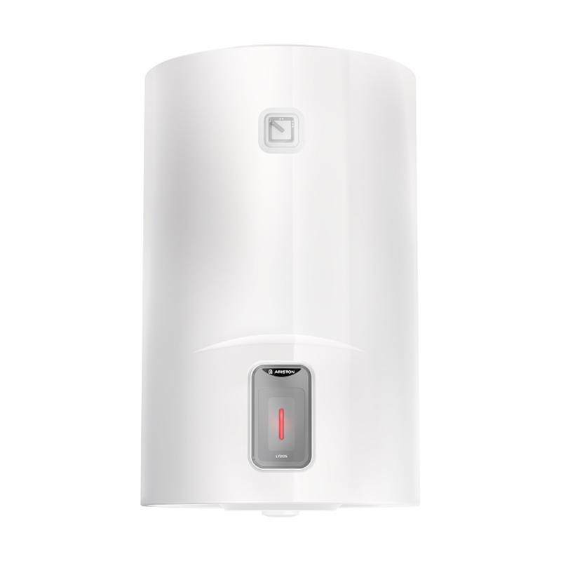 Boiler electric El Lydos, 15 l, 1800 W, 360 x 360 x 385 mm, termostat reglabil, 8 bar, Alb shopu.ro