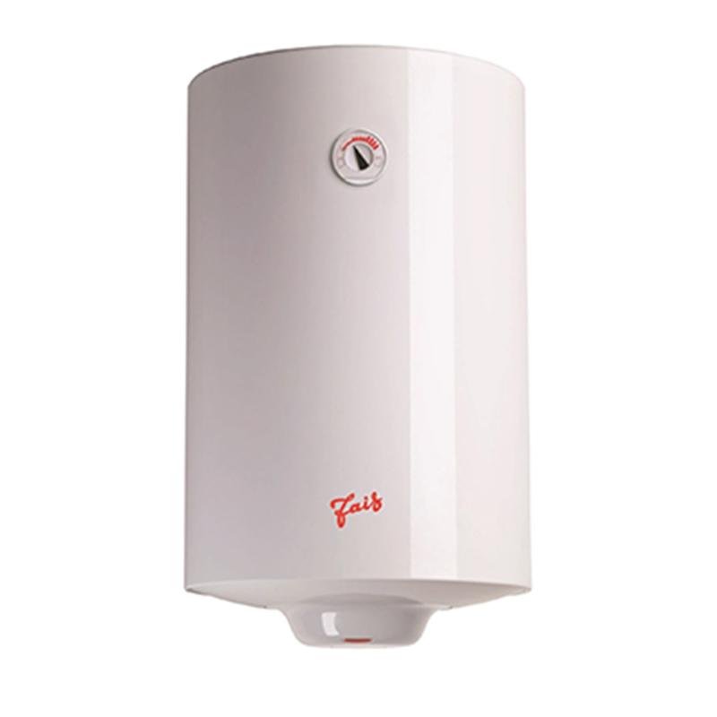 Boiler electric Fais, 100 l, 1500 W, 8 bar, termostat mecanic, funtie anti-inghet, Alb shopu.ro